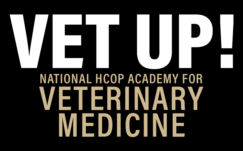 New! Vet Up! The National HCOP Academy for Veterinary Medicine