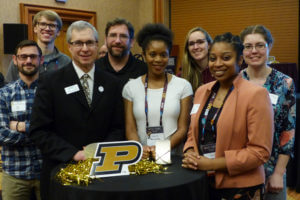 PVM alumni gather at WVC reception.