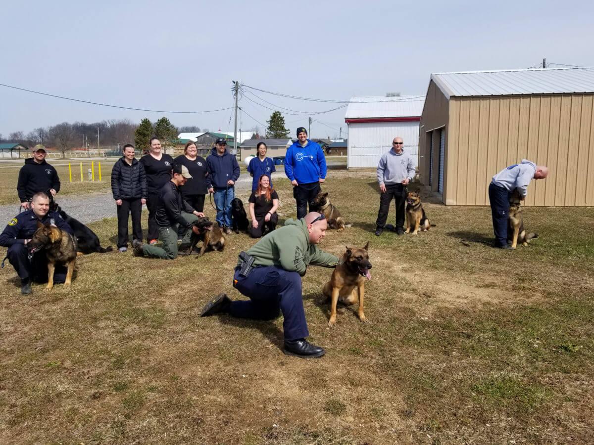 K9 narcan training photo