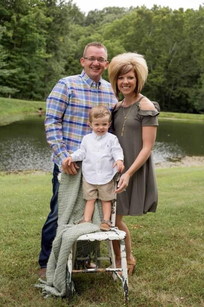 Dr. Brandon Miller and family