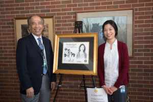 Dean Reed pictured with Dr. Ogata