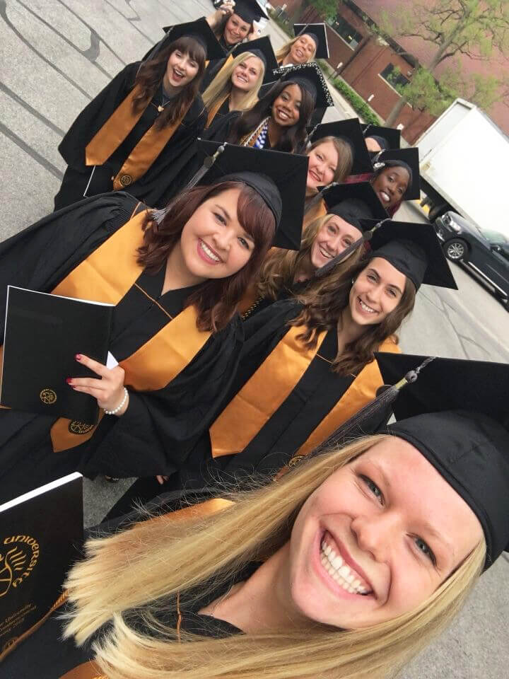 Veterinary Technology Program graduates pictured