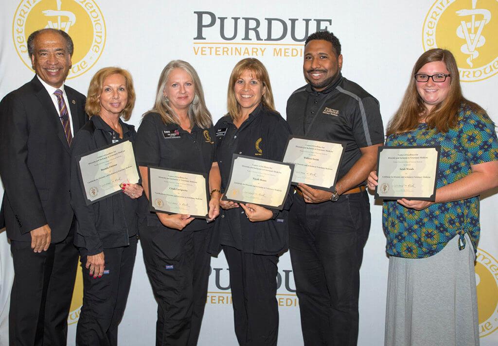 Diversity certificate recipients pictured