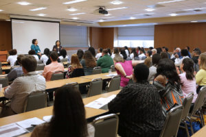 Iverson Bell Midwest Regional Diversity Summit workshop pictured