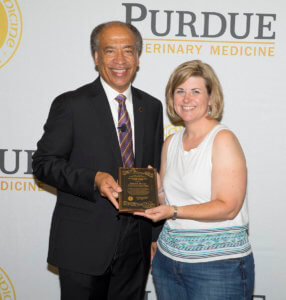 Robyn McCain pictured with Dean Reed