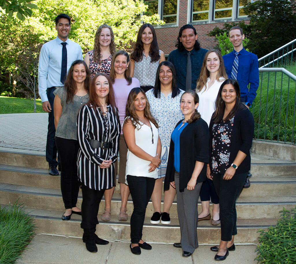 Clinical residents and cardiology intern pictured