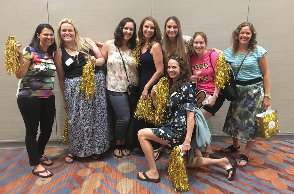 Alumni pictured at the PVM Alumni Reception at AVMA