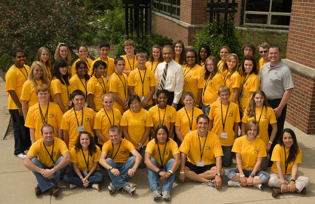 Cate Osterman pictured at Boiler Vet Camp in 2010