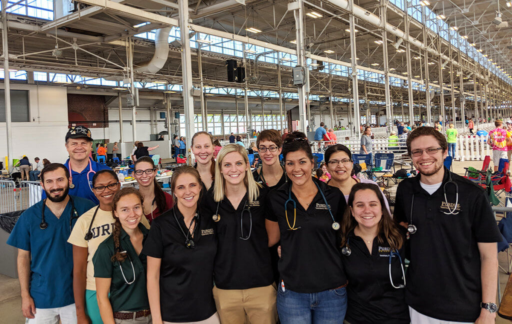 PVM 4-H Dog Show Veterinary Evaluation team pictured
