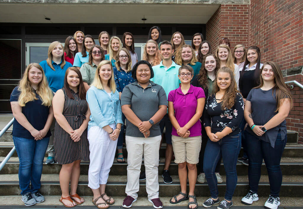Veterinary Nursing Clinical Year 2 students pictured