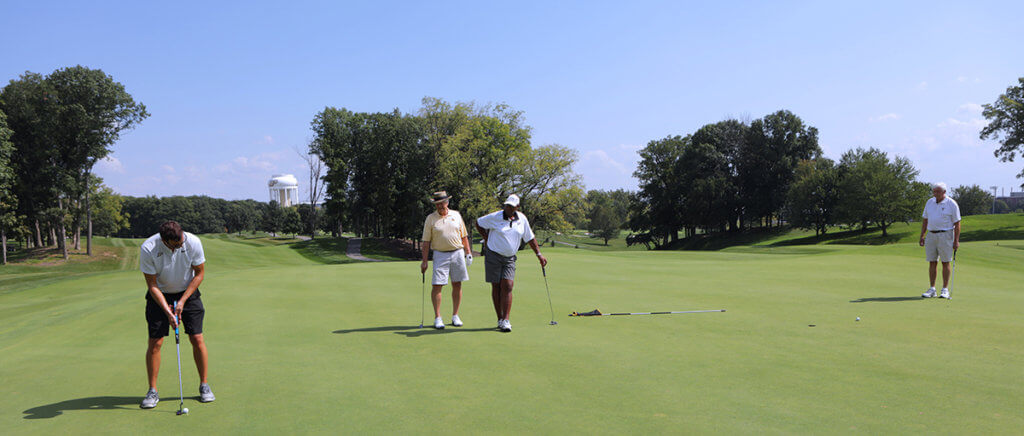 Golf outing participants pictured