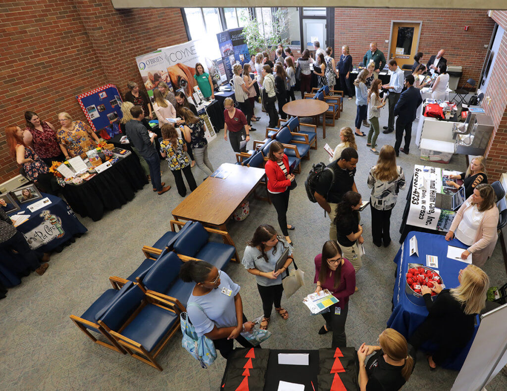 Hire a Boilermaker Career Fair pictured