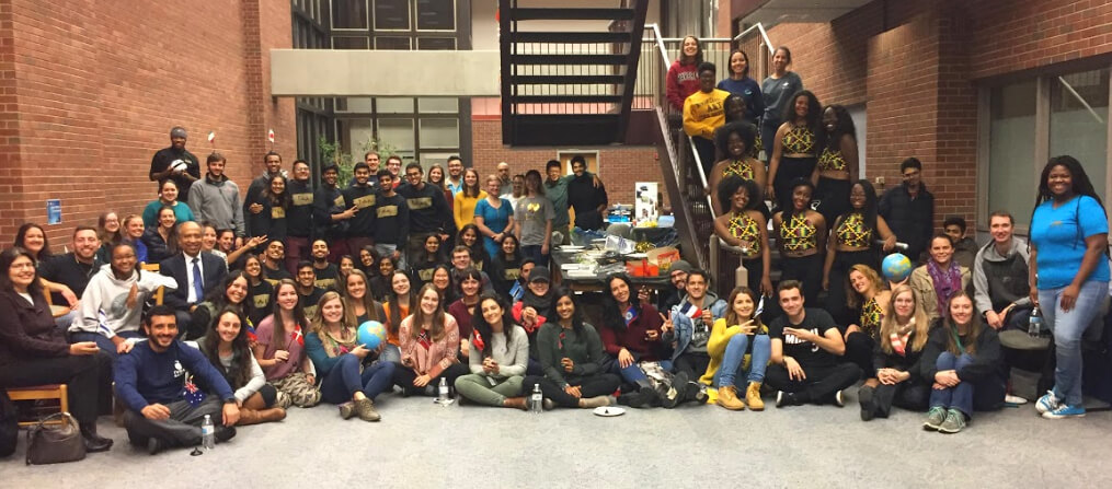 PVM students pictured at IVSA Fall Extravaganza