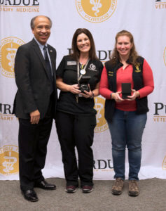 Dean Reed pictured with Julie Commons and Amy Huffman