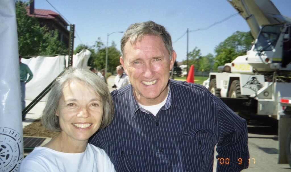 Larry Anderson pictured with his wife, Sharilyn at Purdue