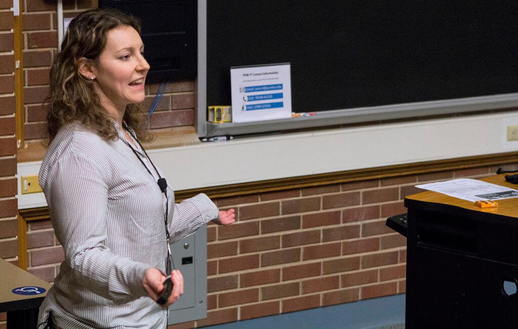 Dr. Waxman presents at the 2019 Horseman's Forum in Lynn Hall