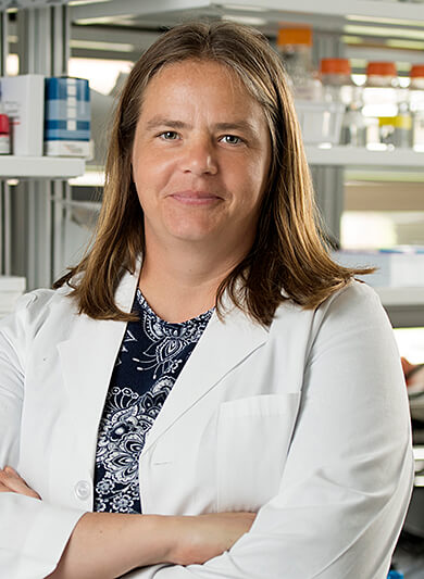 Dr. Little pictured in her lab