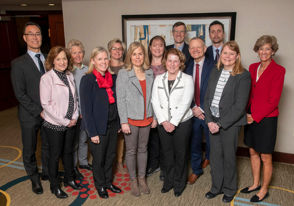 AAVMC Presidential Award for Meritorious Service recipients join together for a group photo