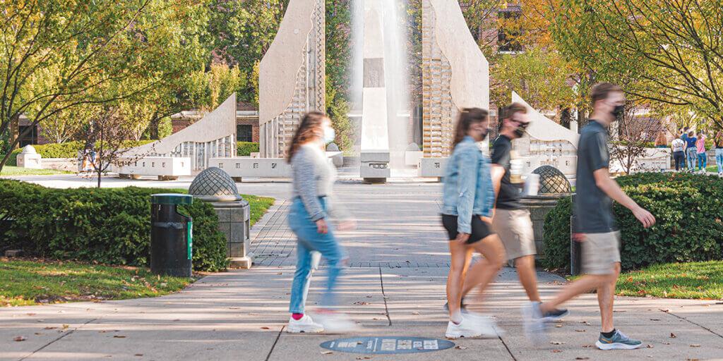 Fall 2020 Campus Scenes
