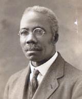 Dr. Lushington black and white portrait