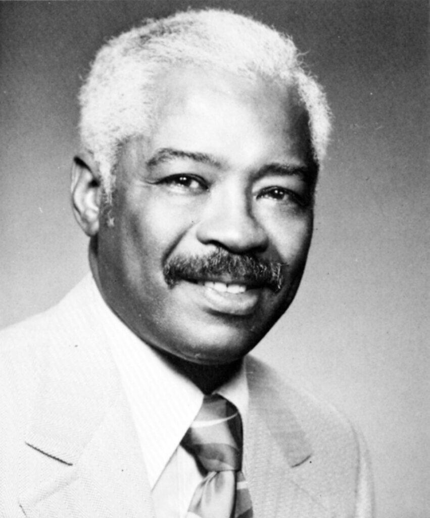 Dr. Bell black and white portrait