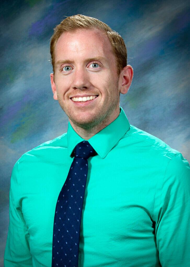 portrait of Andrew Woolcock