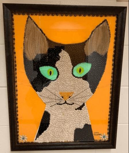 artwork of a cat