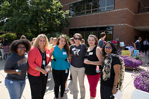 A warm, sunny day in 'Seussville' helped to make for a super 'Hats Off to You!' PVM faculty/staff appreciation event!
