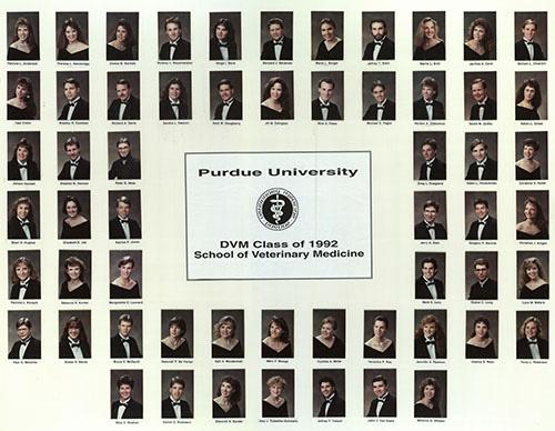 DVM Class of 1992 Class Composite