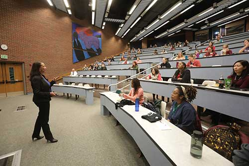 """Dr. Christine Jenkins shares her insights on the topic """"Diversity and Inclusion in the Workplace,"""" as part of PVM's Inclusive Excellence Week."""